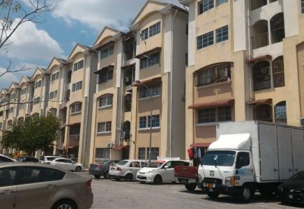 Apartment Orkid U5 Subang Bestari, Shah Alam For Sale!