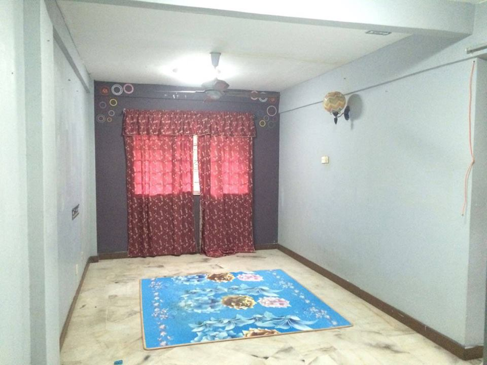 Flat PKNS Medium Cost Section 7, Shah Alam For Rent!