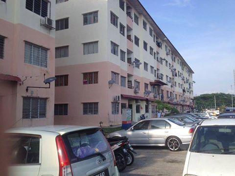 Flat Lebuh Damar Merah, Klang