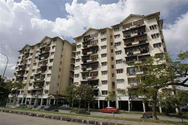 Apartment Taman Bunga Negara Seksyen 27 Shah Alam For Sale!
