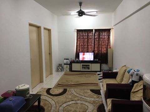 SpringVille Apartment Ukay Perdana For Sale!