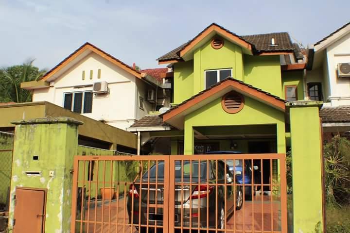 2Sty Terrace Taman Bukit Saga, Seksyen 26 Shah Alam For Sale.