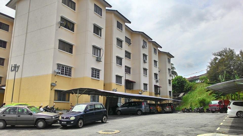 Apartment Lily Taman Tanming Impian Kajang For Sale!