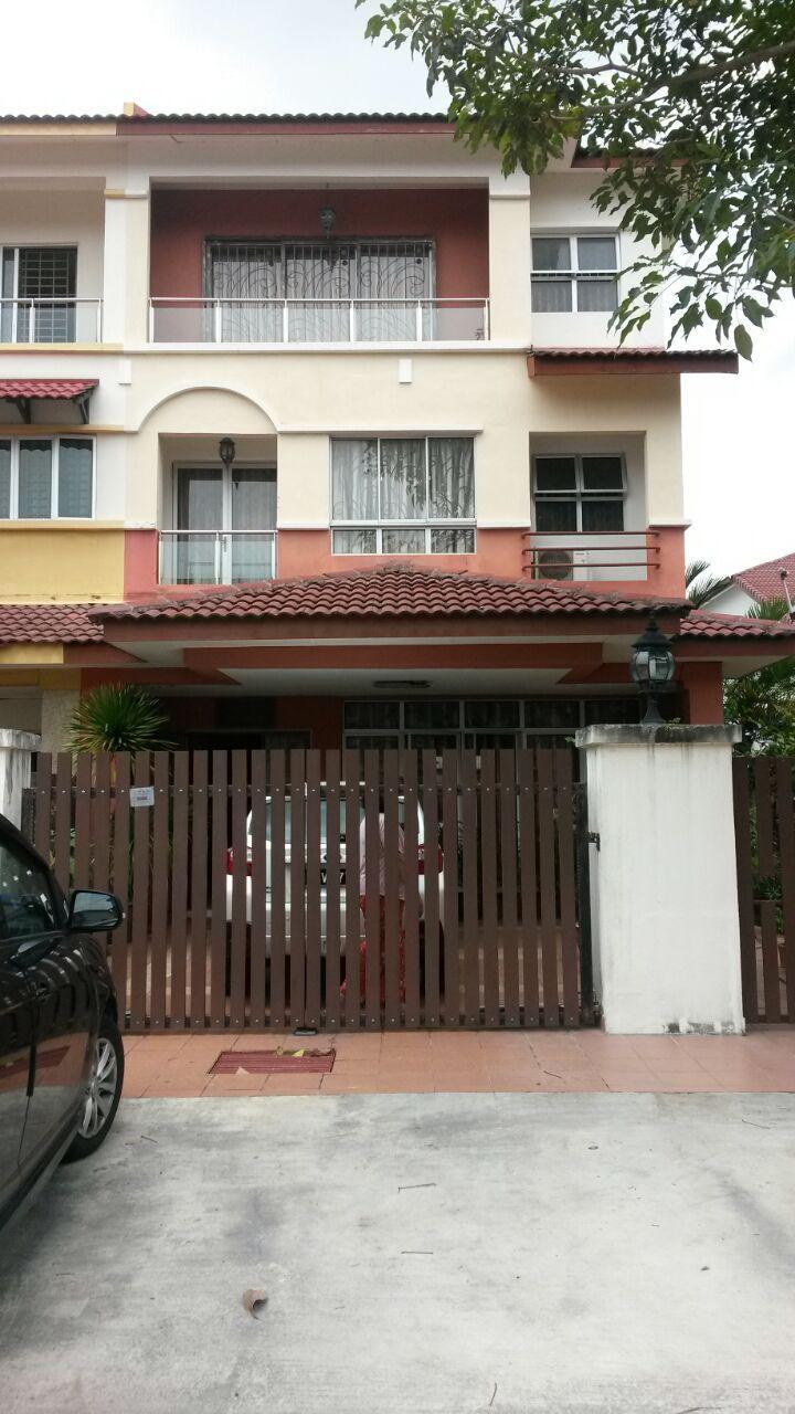 2.5Sty Terrace Damai Utama Bdr Kinrara Puchong For Sale!