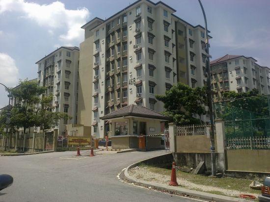 Apartment Sri Ixora, Seksyen 27, Shah Alam
