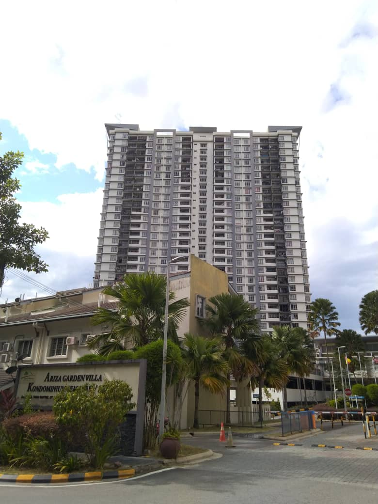 Unit Condominium Semarak (Corner) di Taman Raintree Batu Caves