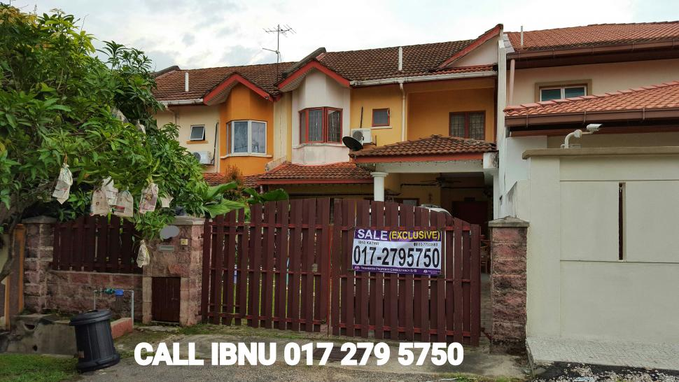 DOUBLE STOREY TERRACE HOUSE 24x75 INTERMEDIATE FOR SALE IN JALAN CECAWI SEKSYEN 6 KOTA DAMANSARA