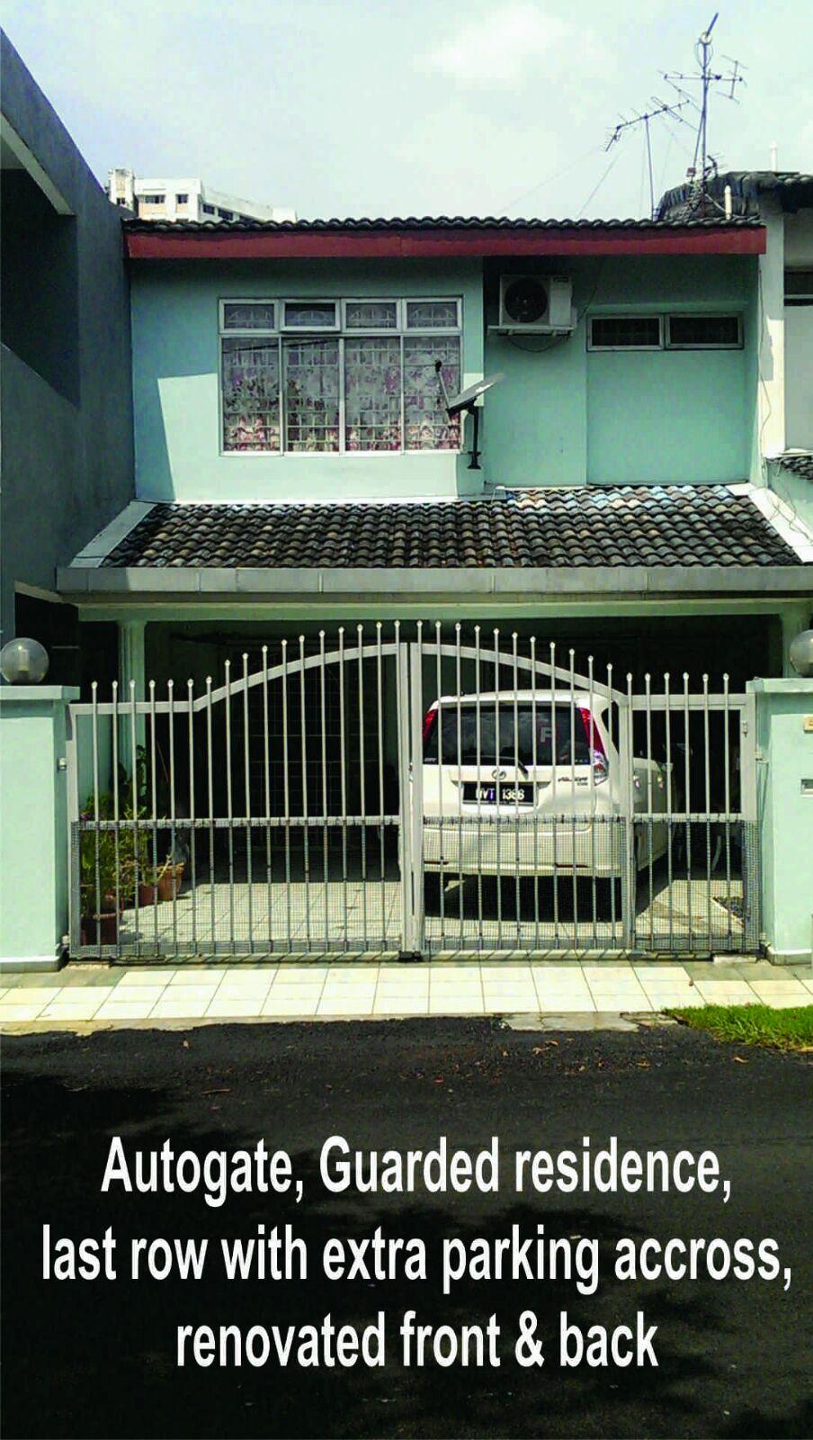 Taman Angsana Hilir 2-storey house