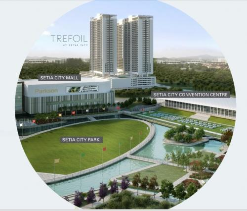 TREFOIL FREEHOLD LUXURY SOFO, SETIA ALAM