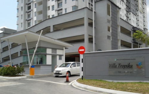 Shop lot Green Villa Apartment Sungai Tangkas Kajang Near KTM UKM Bangi
