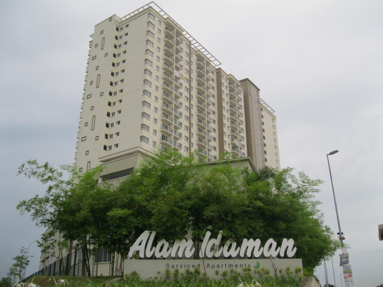 Alam Idaman Service Apartment, Seksyen 22 Shah Alam
