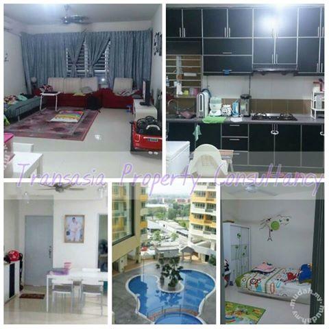 Apartment @ Mutiara Anggerik, Shah Alam